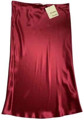 Non Signã© / Unsigned Non SignA / Unsigned Red Silk Skirts