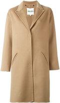 Kenzo single breasted coat - women - Cashmere/Wool - 40