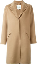 Kenzo single breasted coat - women - Cashmere/Wool - 42