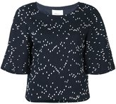 3.1 Phillip Lim bouclé top - women - Silk/Cotton/Acrylic/Viscose - 4