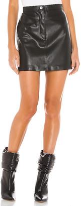BB Dakota Keep Livin Vegan Leather Mini Skirt