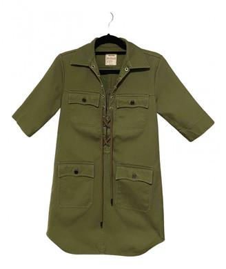 Zadig & Voltaire Spring Summer 2019 Green Denim - Jeans Dresses