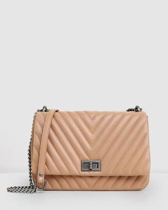 Belle & Bloom Women's Neutrals Leather bags - Belong To You Quilted Cross-Body Bag - Size One Size at The Iconic