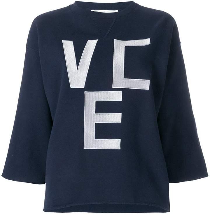 Golden Goose slogan flared sweatshirt