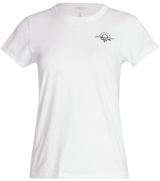 Rag & Bone Sunset Pima Cotton T-Shirt