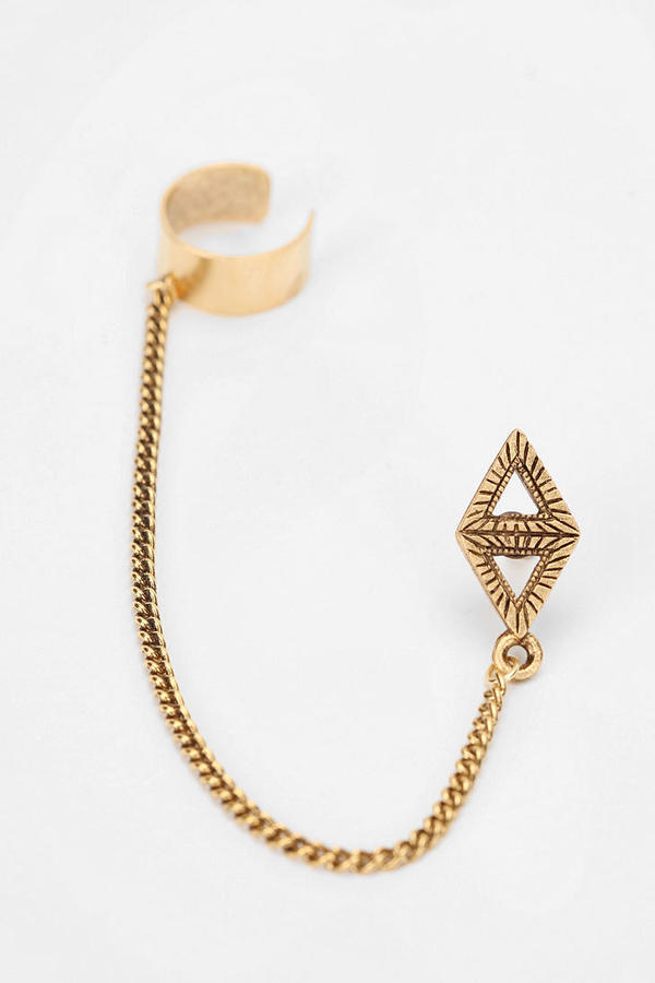 Urban Outfitters Triangle Cuff Earring