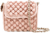 M Missoni knitted crossbody bag - women - Cotton/Polyamide/Polyester/Metallic Fibre - One Size