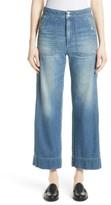 Rebecca Taylor Women's Delphine Wide Leg Jeans