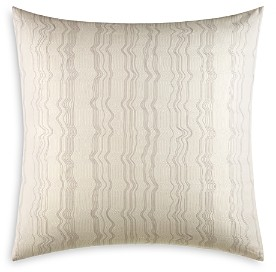 Vera Wang Marbled Embroidered European Sham