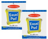Melissa & Doug Easel Pad (17 x 20 inches) - 50 Sheets, 2-Pack