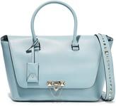 Valentino Garavani Demilune Studded Leather Shoulder Bag