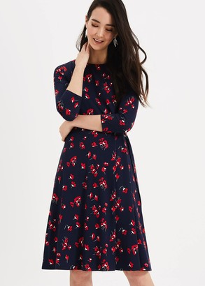 Phase Eight Livi Floral Print Dress