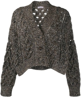 Brunello Cucinelli Chunky-Knit Cardigan