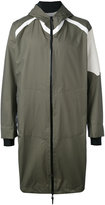 11 By Boris Bidjan Saberi printed hooded coat - men - Polyamide - M
