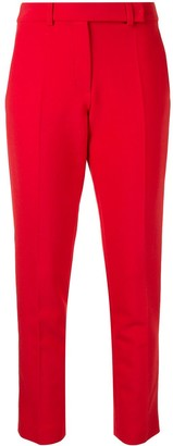 Paule Ka Cropped Straight-Leg Trousers