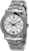 Kenneth Cole Women's Steel Bracelet & Case Quartz Analog Watch 10026395