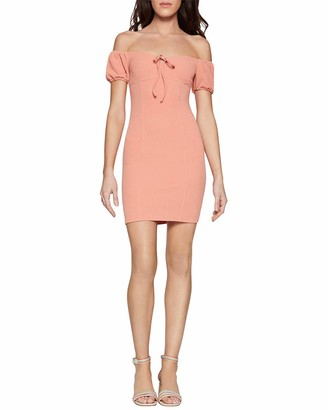 BCBGeneration Women's Puff Sleeve Mini Dress