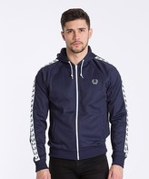 Fred Perry Tape Track Hooded Top