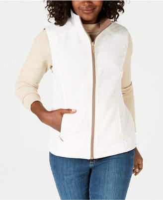 Karen Scott Reversible Vest