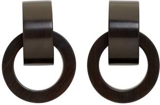 Monies Jewellery Brown Selma Earrings