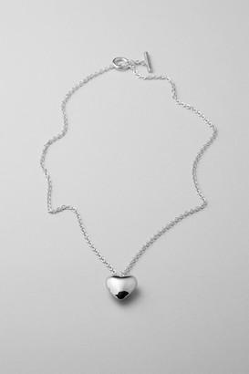 Weekday Wanda Charm Necklace - Silver