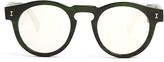 Illesteva Leonard mirrored-lenses sunglasses