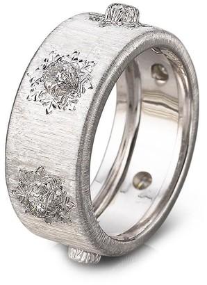 Buccellati 'Macri' diamond white gold ring