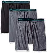 Hanes Men's 3-Pack X-Temp Performance Cool Embossed Boxer Brief