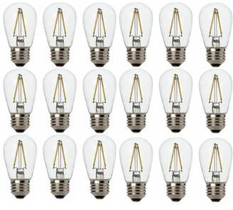 Newhouse Lighting 25 Watt Equivalent E26/Medium (Standard) S14 Medium LED Vintage Filament Light Bulb
