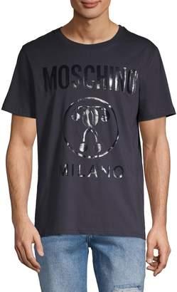 Moschino Couture! Logo Cotton Tee