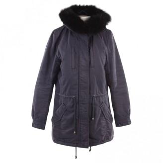 N. Iq+ Berlin \N Blue Cotton Coats