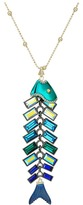 Betsey Johnson Fish Pendant Long Necklace Necklace