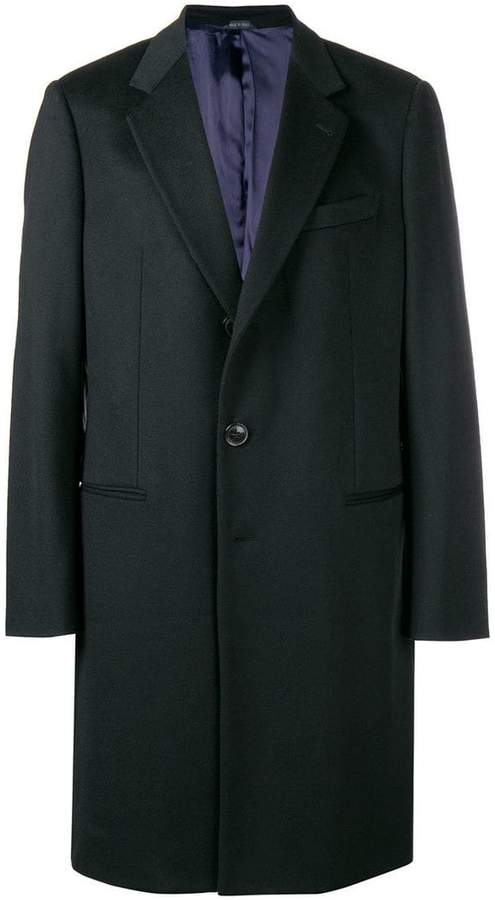 Giorgio Armani single breasted blazer coat
