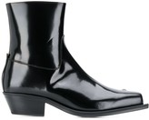 Misbhv leather ankle boots