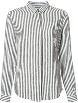 OSKLEN striped shirt - women - Linen/Flax - P