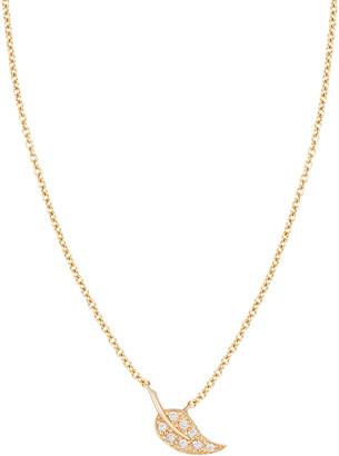 Ariana Rabbani 14K 0.11 Ct. Tw. Diamond Leaf Necklace