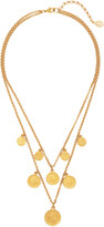 Thumbnail for your product : Ben-Amun Women's Gold-Plated Coin Necklace - Gold - Moda Operandi