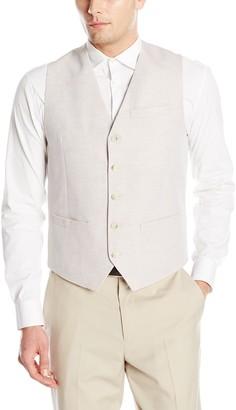 Perry Ellis Men's Linen Suit Vest