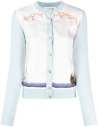 Lanvin Buttoned Fine-Knit Cardigan