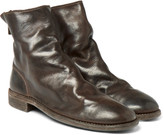 Guidi - Distressed Leather Boots