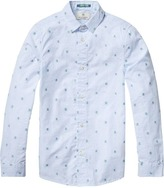 Scotch & Soda Jacquard Dress Shirt