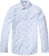 Scotch & Soda Jacquard Dress Shirt