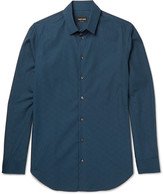 Giorgio Armani - Slim-fit Cotton-jacquard Shirt
