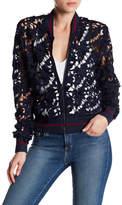 Lucy Paris Grace Lace Bomber Jacket