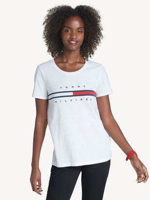 Tommy Hilfiger Relaxed Fit Essential Logo Flag T-Shirt