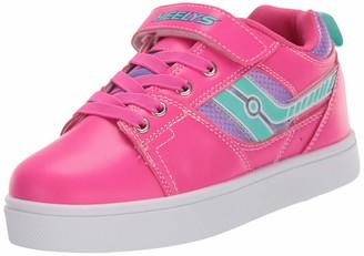 Heelys Girl's Racer X2 Lighted Wheeled Heel Shoe