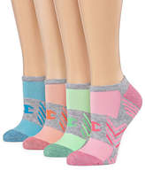 Champion 4 Pair No Show Socks - Womens