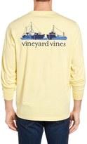 Vineyard Vines Fishermans Fleet Graphic Pocket Long Sleeve T-Shirt