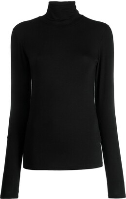 Majestic Filatures Turtleneck Slim-Fit Sweater