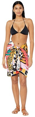 Maaji Wild Jungle Cosmos Pareo Cover-Up (Pink) Women's Swimwear
